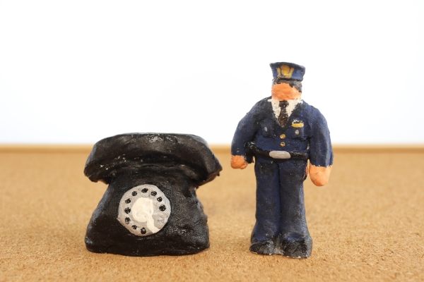 Police and Phone