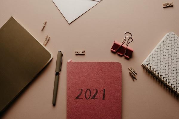 2021年スケジュール帳