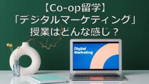 【Co-op留学】人気プログラム「デジタルマーケティング」授業はどんな感じ?