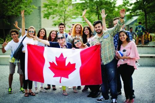International Students Flag